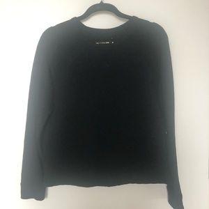 Rag & Bone Jean Quilted Sweatshirt/Sweater